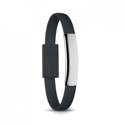 Armband met micro USB Cablet