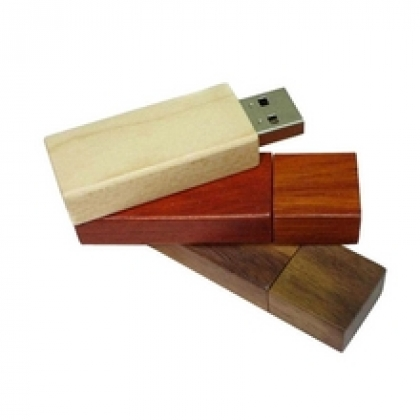 Houten USB stick Wood