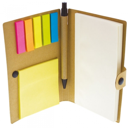 Recycle sticky notes boekje