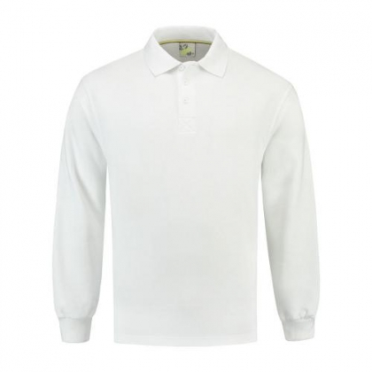Sweatshirt Polo Open Hem