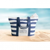 Gestreepte strandtas Blinky Stripes