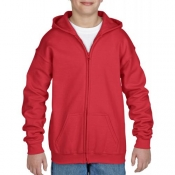 Gildan Sweater Hood Full Zip for kids