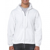 Gildan hooded zip sweater