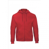 Heren sweatjacket met capuchon