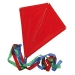 190T polyester vlieger, 190T polyester vlieger rood