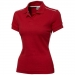 Backhand polo - Dames, Backhand polo - Dames Rood/White Solid