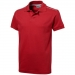 Backhand polo, Backhand polo Rood/White Solid