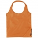 Bungalow opvouwbare polyester boodschappentas, Bungalow opvouwbare polyester boodschappentas oranje