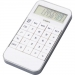 Calculator in vorm van telefoon, 10-digits, Calculator in vorm van telefoon 10-digits wit