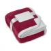 Dekens, koraal fleece/sherpa, Dekens koraal fleece/sherpa bordeaux