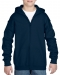 Gildan Sweater Hood Full Zip for kids, Gildan Sweater Hood Full Zip for kids navy