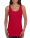 Gildan dames tanktop softstyle, Gildan dames tanktop softstyle cherry red