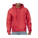 Gildan hooded sweater, Gildan hooded sweater heather sport scarlet red