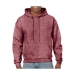 Gildan hooded sweater, Gildan hooded sweater heather sport dark maroon