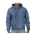 Gildan hooded sweater, Gildan hooded sweater heather sport dark navy