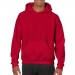 Gildan hooded sweater, Gildan hooded sweater cherry red