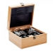 Luxe whiskey set in bamboe box Inverness, Luxe whiskey set in bamboe box Inverness hout