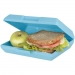 Oblong lunch box, Oblong lunch box blauw
