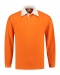 Rugby Shirt Solid, Rugby Shirt Solid Orange
