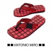 Slippers Naidux, Slippers Naidux rood