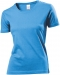 T-shirt Classic Woman, T-shirt Classic Woman Light blue