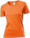T-shirt Classic Woman, T-shirt Classic Woman Orange