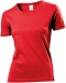 T-shirt Classic Woman, T-shirt Classic Woman Scarlet Red